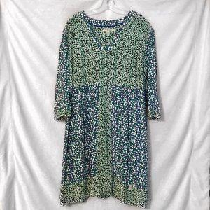 Boden Patterned Swing Dress (A1)